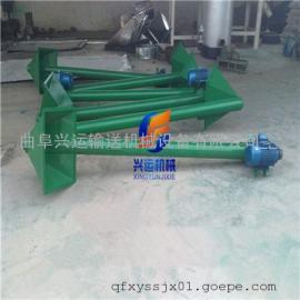 大豆花生等榨油用螺旋加料机 方便移动型碳钢螺旋加料机