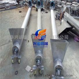 定制可移动升降绞龙上料机 濮阳市不锈钢材质螺旋输送机
