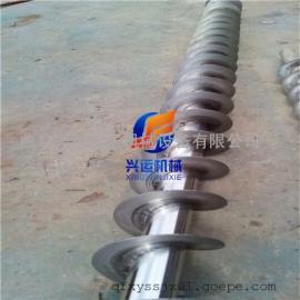U型槽螺杆输送机制作商家 环保型新设备