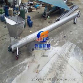 爬坡式螺旋上料机批发价格 溧阳304不锈钢密封管螺旋提升机