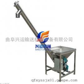 湖南省浏阳市 密封式304材质白糖入罐用螺杆式上料机