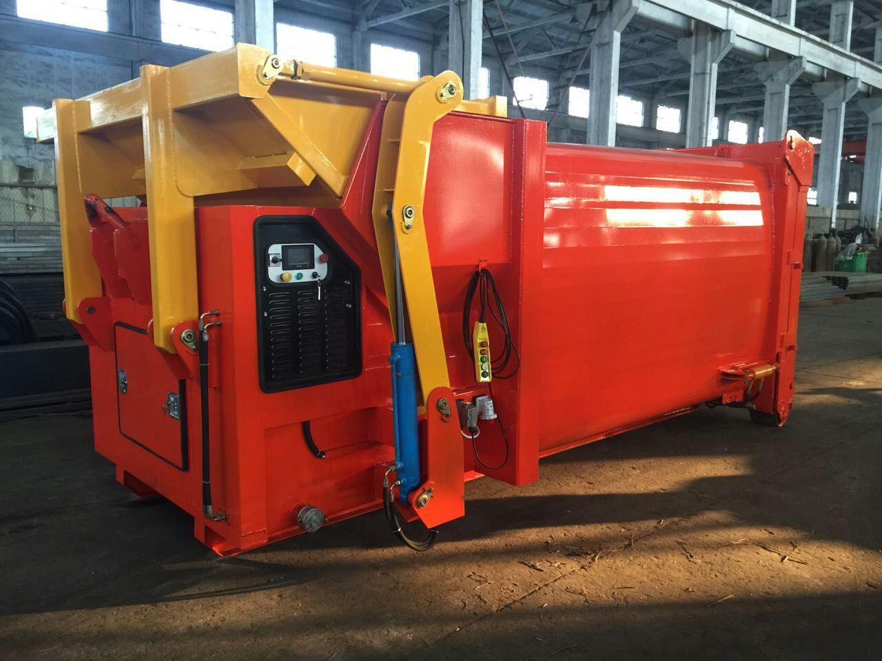 15立方移动式垃圾压缩箱生产厂家价格
