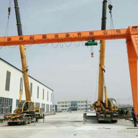 厂家定做10吨龙门吊-10吨龙门吊经销商-10吨龙门吊价格