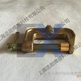 上海全铜接地夹 C型全铜接地夹1000A价格