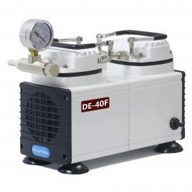 供应DE-40F无油 隔膜真空泵 实验室常用隔膜真空泵