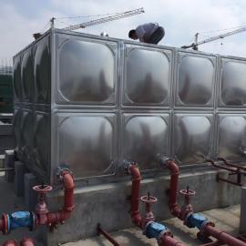 不锈钢生活水箱(厂家现场安装)