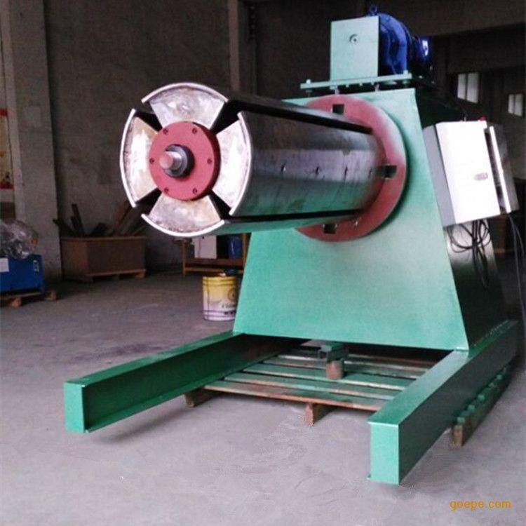 冲压钢卷钢带放料架放卷机mt-1300液压开卷机重型材料图片