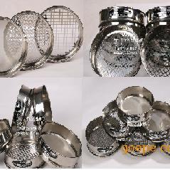 金属穿孔板网试验筛|板网筛|圆孔标准筛|直径200mm冲孔板标准筛