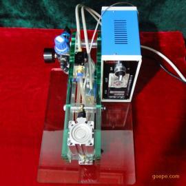 供应散装冲剂坚果复合铝箔袋包装立式包装热压设备-HZJP1