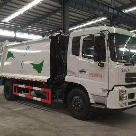 国五天锦12立方压缩式垃圾车
