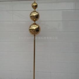 GA-S2国安球状型避雷针(单球或多球可定制)