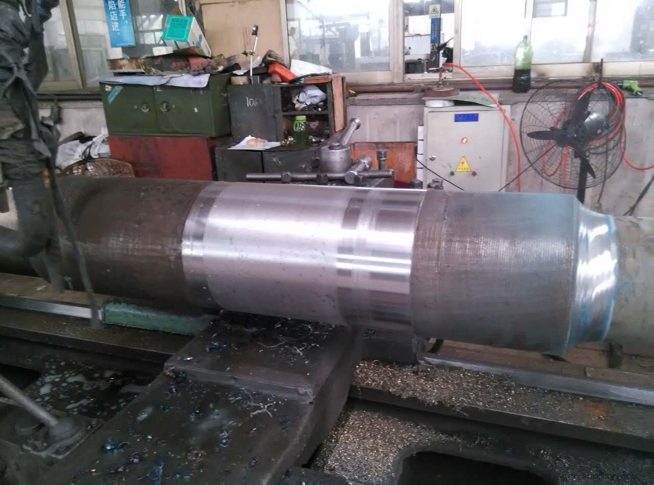 液压杆表面修复设备