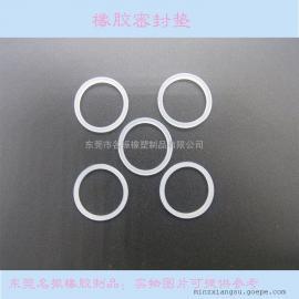 供应白色透明硅胶圈 防水耐高温密封胶圈 氟胶圈 硅橡胶圈