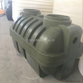 河南1.5立方塑料化粪池PE滚塑化粪池三格式污水处理化粪池