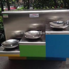 内外贸公共直饮水机-大型户外饮水台-不锈钢直饮水设备
