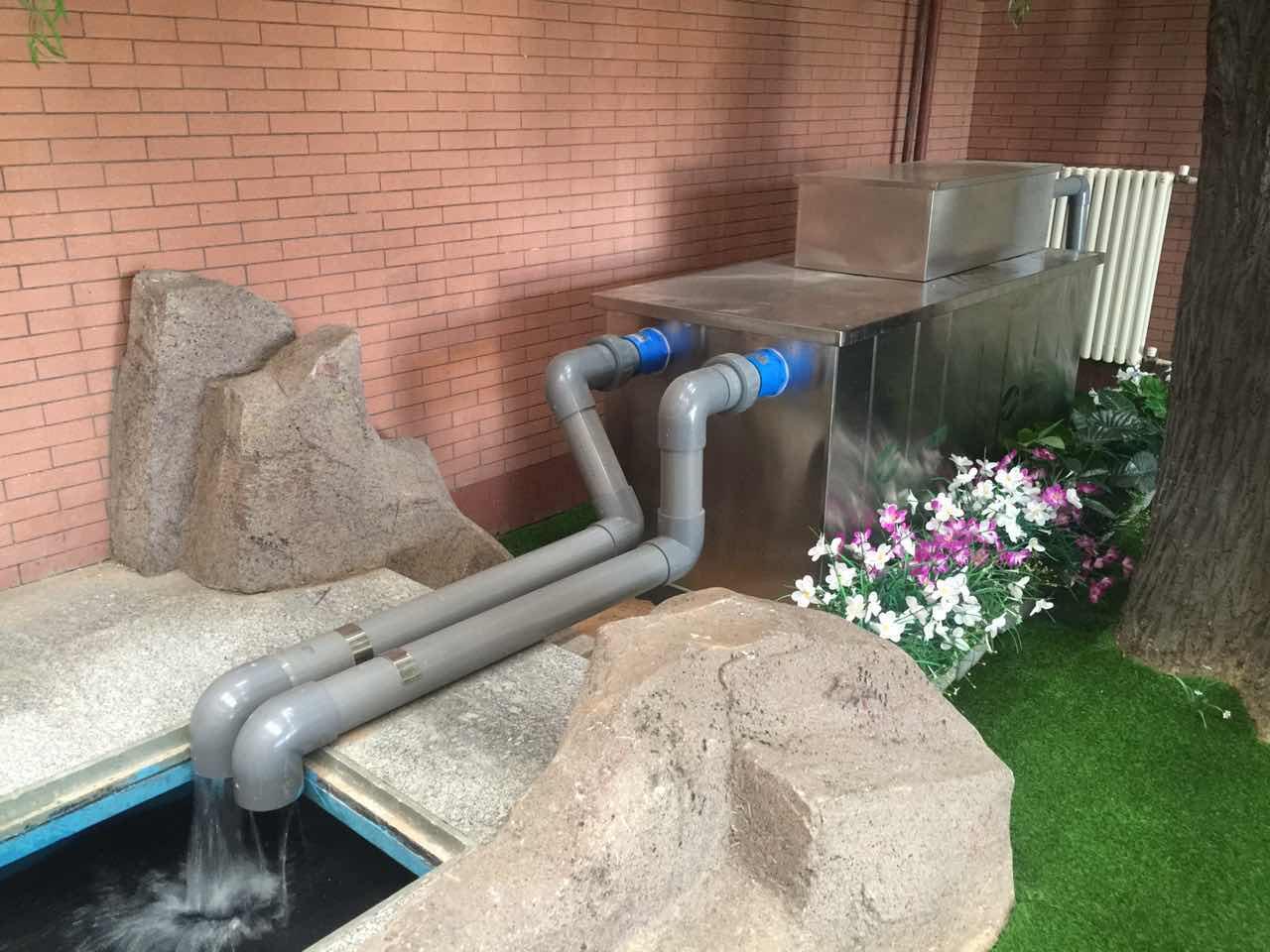 10000通辽别墅泳池水过滤-鱼池过滤器-鱼池水