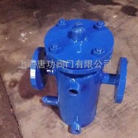 唐功SBLG保温夹套蓝式过滤器 碳钢保温篮式过滤器