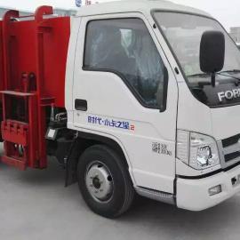 小型挂桶式垃圾车