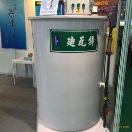 迪瓦特六槽升级版阴/阳离子絮凝剂干粉自动泡药机