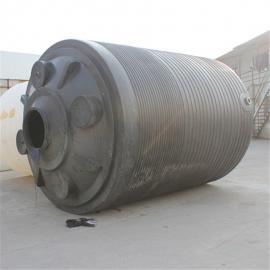20立方塑料水箱 20吨黑色避光塑料储罐定制