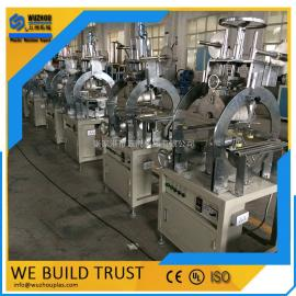PVC石塑生产设备 PVC石塑异型材挤出生产线