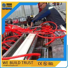 五洲机械PVC石塑装饰线条设备厂家