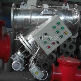唐功Y型不锈钢全自动自清洗过滤器 自清洗全自动刷式过滤器