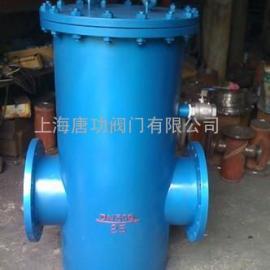 唐功生产GCQ垂直型自洁式过滤器 直通自洁式排气水过滤器