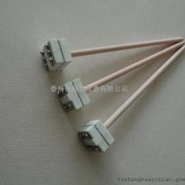 S型单铂铑热电偶WRP-100方形高温刚玉管热电偶