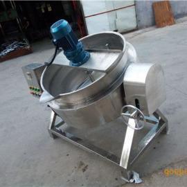 不锈钢可倾肉制品蒸汽夹层锅