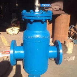 唐功生产GCQ自洁式排气水过滤器 直角型自洁式水过滤器