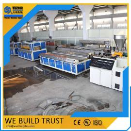 PVC集成墙板全套生产机器