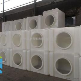厂家直销1000L塑料吨桶化工包装桶IBC运输桶大口径