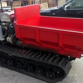小型液压履带运输多功能适合全地形农用田间履带运输拖拉机