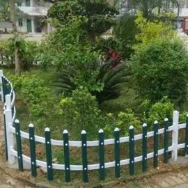 丰城PVC花坛绿化护栏厂家,农家乐景观围栏,庭院草坪护栏