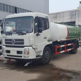 东风天锦天然气环卫洒水车厂家