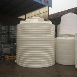 周口15吨平底塑料水箱一体化纯水水箱工程水箱牛筋材质