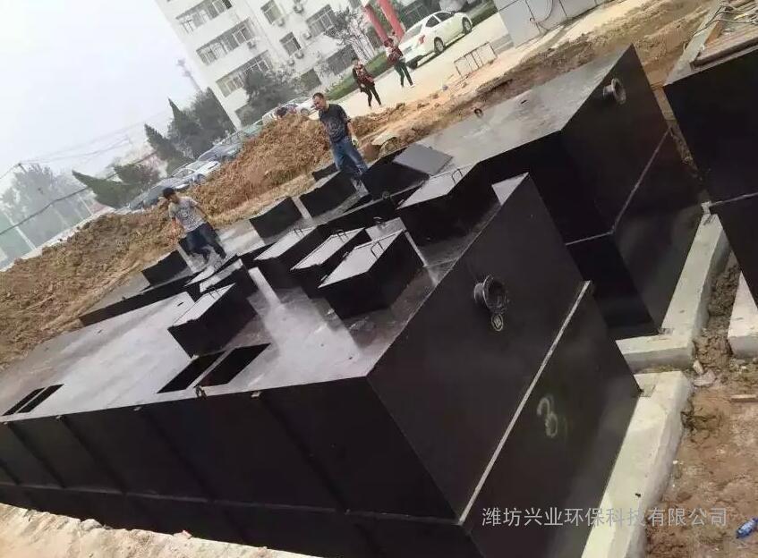 50T屠宰污水处理设备