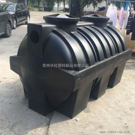 西华2吨耐酸碱塑料化粪池一体化污水处理设备环保材质