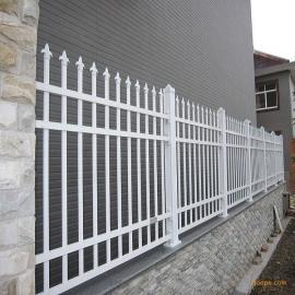 批发定做别墅庭院锌钢护栏锌钢栅栏