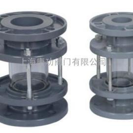 唐功CPVC氯化聚氯乙烯塑料玻璃视镜DN25-DN200