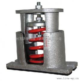 风机减震器,用弹簧式避震器,安装简单,可调节高度,利瓦环保
