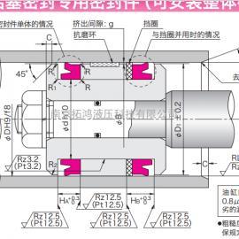 OSI型活塞(孔用)密封圈