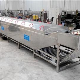 厂家供应蔬菜漂烫机 喷淋水浴巴氏杀菌机