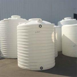 钧宏5立方平底储罐 长沙5000L立式圆柱水塔供应