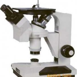 小型4XB双目倒置金相显微镜