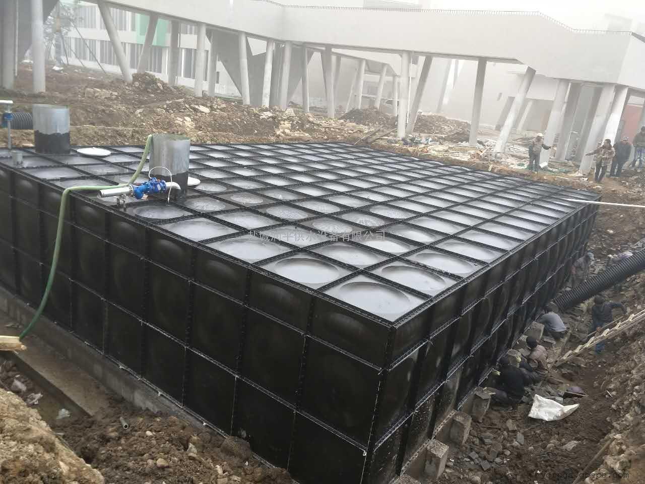 润平供应山东德州地埋式箱泵一体化 地埋消防水池泵站