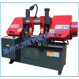 润发机械GT4228金属带锯床厂家批发 液压带锯床价格