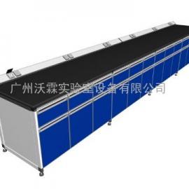 铝木实验台 铝木边台 铝木中央台 仪器台