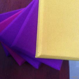 高密度吸声玻纤棉 布艺软包吸音板基材厂家